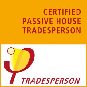 Certificación Passive House Tradesperson